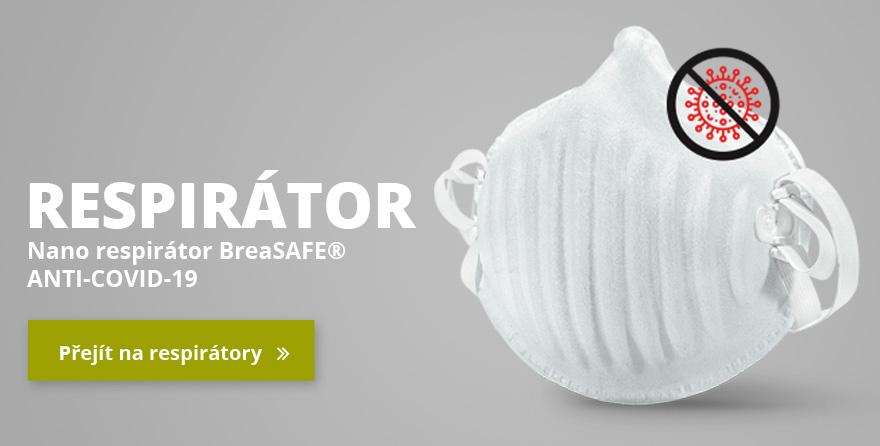 Nano respirátor BreaSAFE® ANTI-COVID-19